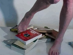 foot and book dance