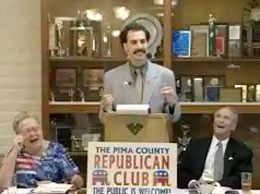 Borat on Republicans